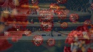 Escenario de un teatro infectado de coronavirus